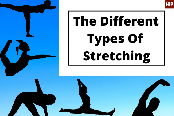 The different types of stretching captured together