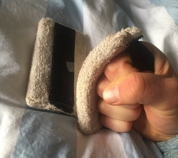 alistair knight's hand and under hand wraps for boxing