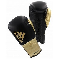 black and gold boxing gloves